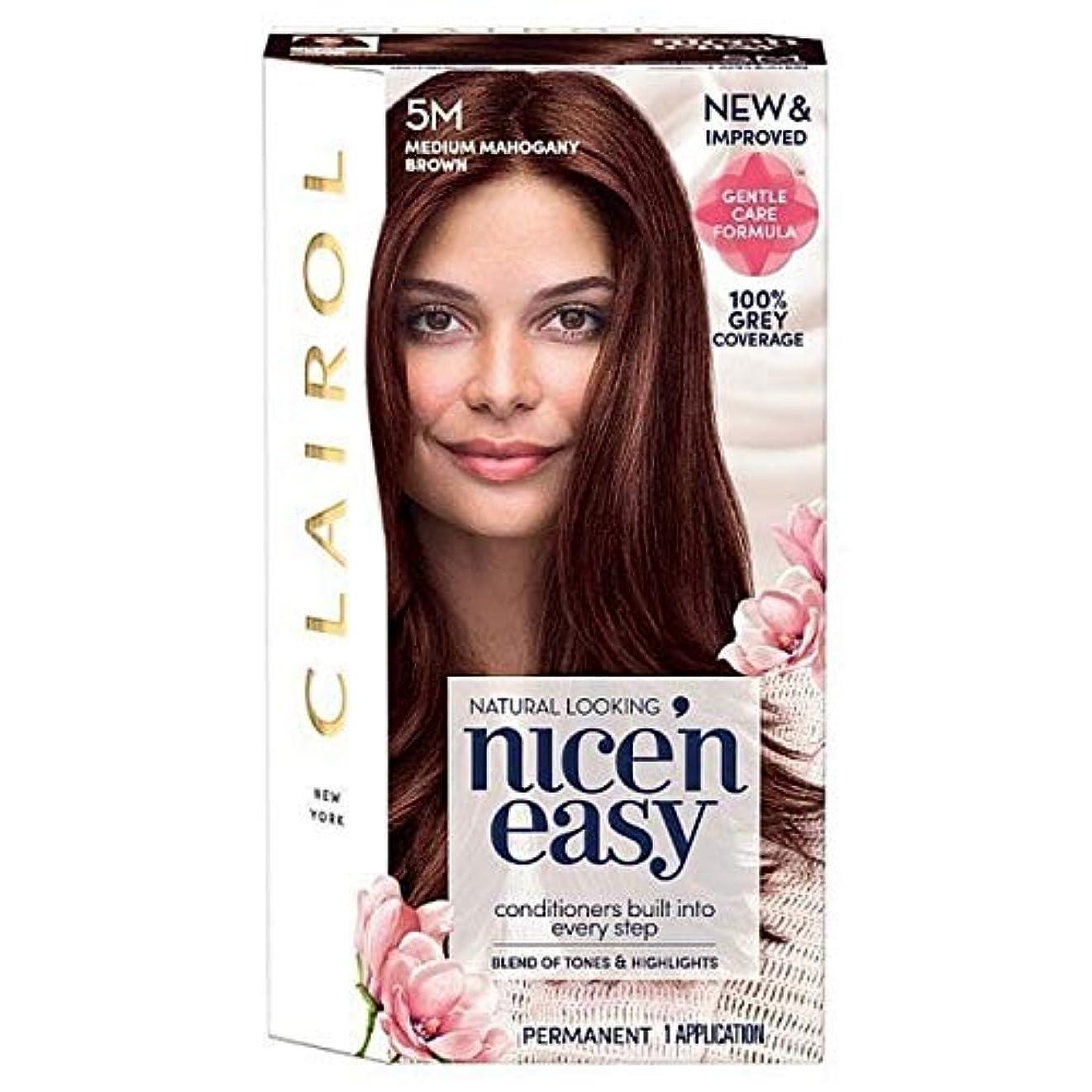 侵入するエンティティテセウス[Nice'n Easy] 簡単に5メートルメディアマホガニーブラウンNice'N - Nice'n Easy 5M Medium Mahogany Brown [並行輸入品]