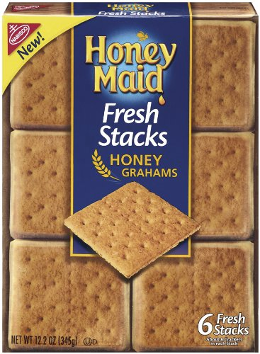 Honey Maid Fresh Stacks, 12.2-Ounce (Pack of3)