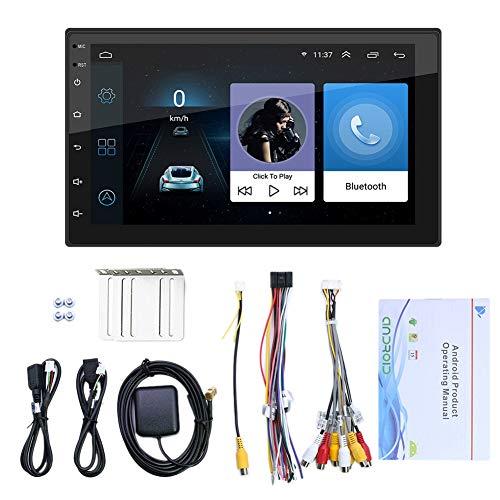 Youmine 7 Pulgadas Android 10.1 Radio de Coche Reproductor de Video Multimedia WiFi GPS EstéReo AutomáTico Doble 2 DIN EstéReo de Coche USB Radio FM