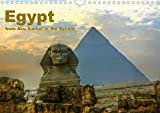 Egypt - from Abu Simbel to the Sphinx (Wall Calendar 2021 DIN A4 Landscape)