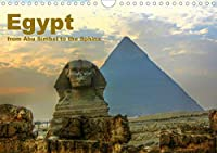 Egypt - from Abu Simbel to the Sphinx (Wall Calendar 2021 DIN A4 Landscape): The fascinating land of the Pharaohs. (Monthly calendar, 14 pages )