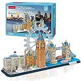 CubicFun 3D Puzzle Cityline London Architecture Building Model Kits, Buckingham...