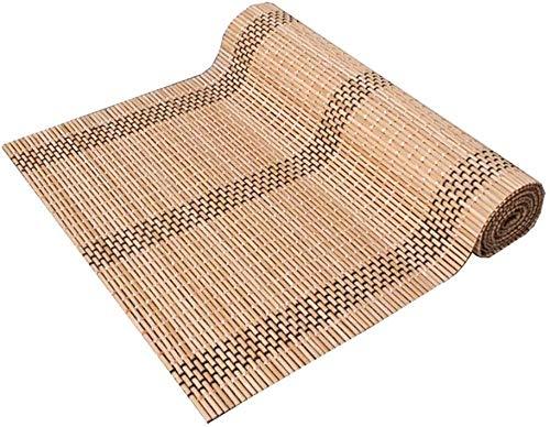 BECCYYLY Corredor de Mesa Tabla de bambú Runner Kung Fu Accesorios del té, té no Slip Mat for el Banquete de Boda del Partido del hogar, Manteles (Size : 30×100cm/11.8'×39.3')
