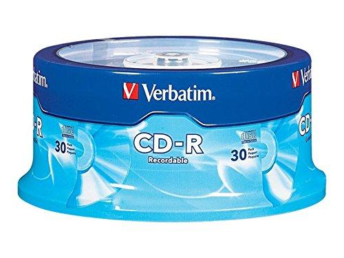 Sparen Sie auf Verbatim 97955 CD-R (52 x 80 Minuten) Standard-Verpackung 30-Disc