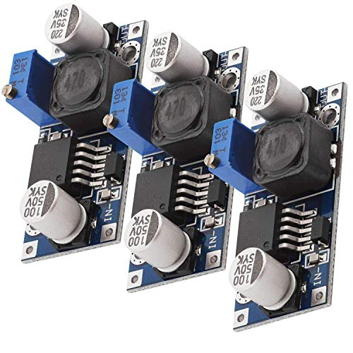 AZDelivery 3 x LM2596S DC-DC adaptador de corriente modulo step down con E-Book incluido!