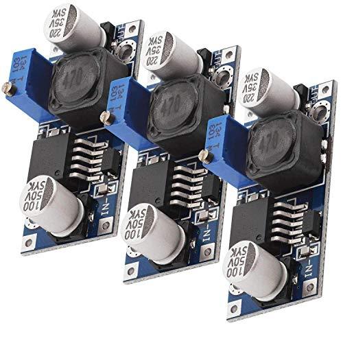 AZDelivery 3 x LM2596S DC-DC Netzteil Adapter Step down Modul kompatibel mit Arduino inklusive eBook!