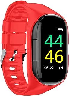 Goolsky 2-In-1 Smart Watch with TWS Earbuds Fitness True Wireless Headphones Step Calorie Counter Activity Smart Bracelet ...