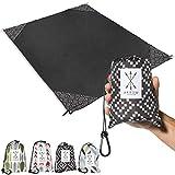 Arrow Exclusive Outdoor Beach Blanket (71' x 55') Lightweight Mat, Waterproof Picnic Blanket | Sand...