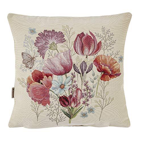 Kissenbezug Ella, Gobelin Jacquard – Qualität und Tradition Textil von hoher Dichte, 45 x 45 cm