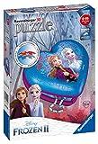 Herzschatulle Frozen 2. 3D Puzzle 54 Teile: Erlebe Puzzeln in der 3. Dimension