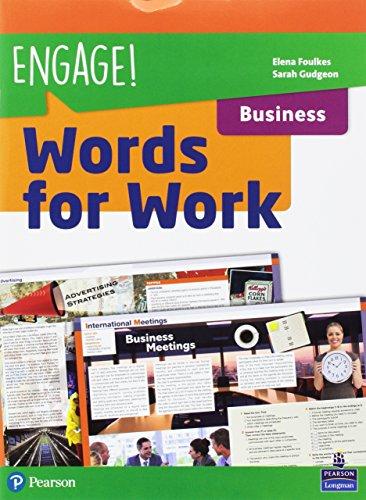 Engage! Compact. Words for work. Business. Per gli Ist. tecnici e professionali. Con espansione online [Lingua inglese]
