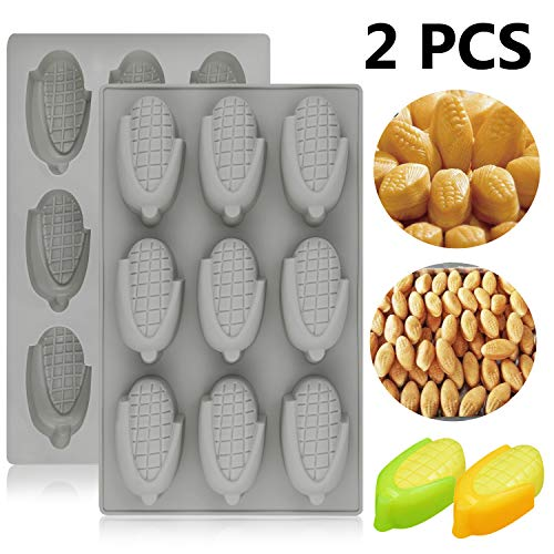 Palksky Maiskuchenform / Cornbread Backform für koreanische Snacks Twinkies Cheescake Schokolade Süßigkeiten Gelatine Gelatine Backen Seife Wachs