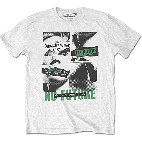 Sex Pistols Johnny Rotten SID Vicious Punk Rock tee T-Shirt Mens