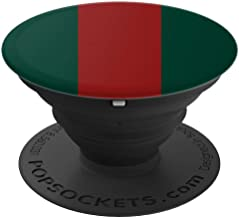 Green/Red Stripes Luxury Lux GG - PopSockets Grip and Stand for Phones and Tablets