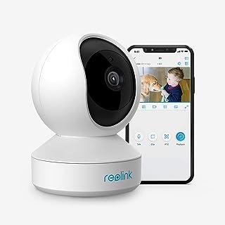 Reolink WLAN IP Kamera schwenkbar, Überwachungskamera Innen Handy 3MP HD mit 2,4 GHz..