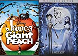 Burton's Delightfully Odd Disney Movies: James And The Giant Peach DVD + The Corpses' Bride DVD Bundle