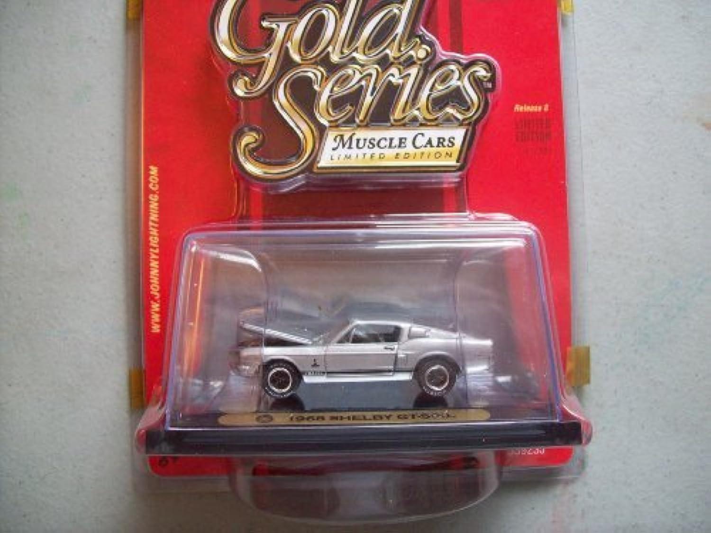 ventas en linea Johnny Lightning oro Series R8 1968 Shelby GT-500 GT-500 GT-500 by Jl  salida de fábrica