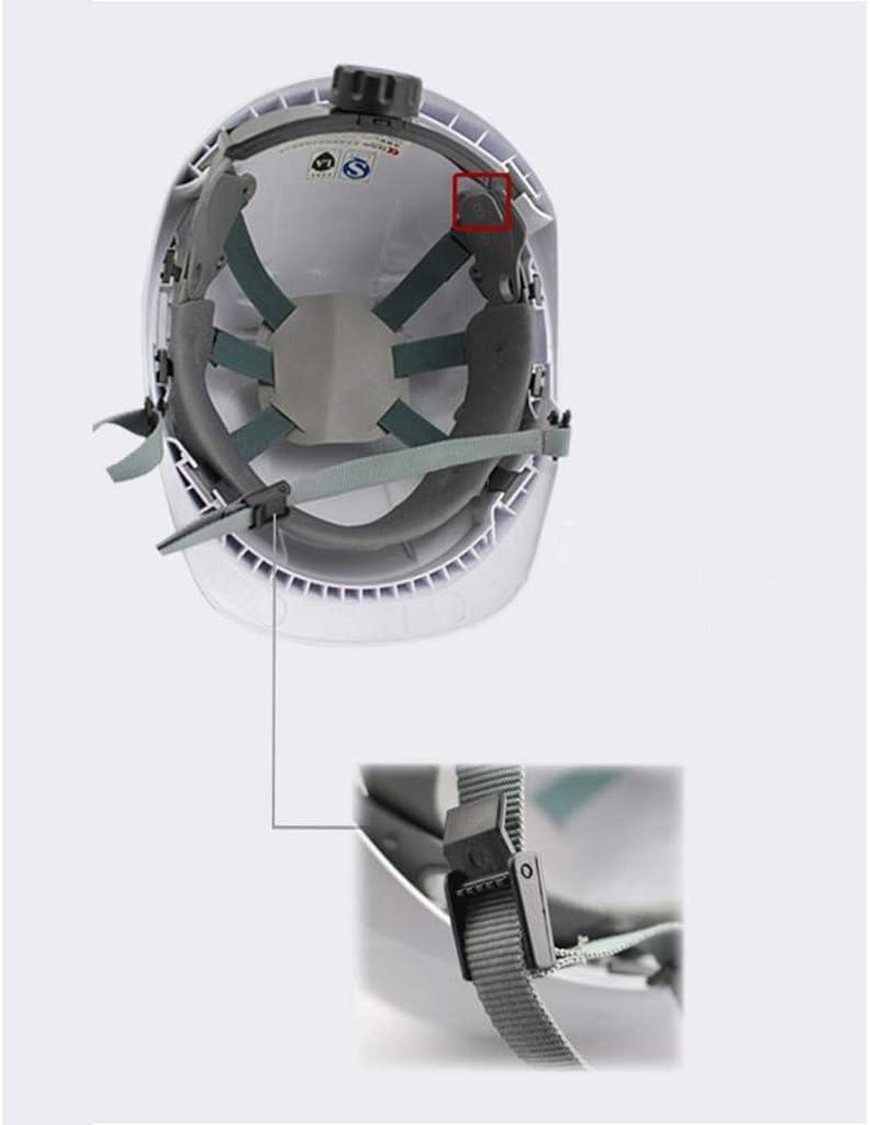 Moolo Schutz Helm Bauarbeiter-Helm Baustelle Bel/üfteter V-Typ Atmungsaktiver Schutzhelm Schutzhelme Sicherer Helm