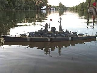 Brigamo B001–R/C Cuirassé Bismarck 1:350(1080pièces)