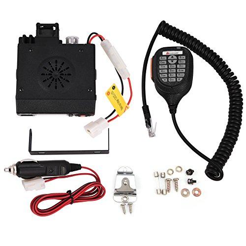 Mini-Auto-Mobile FM-Radio UKW/UHF Dual-Band Transceiver Fahrzeug Walkie Talkie 128 Speicherkanäle