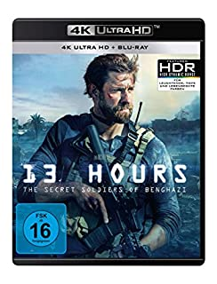 13 Hours: The Secret Soldiers of Benghazi  (4K Ultra HD) (+ Blu-ray 2D)