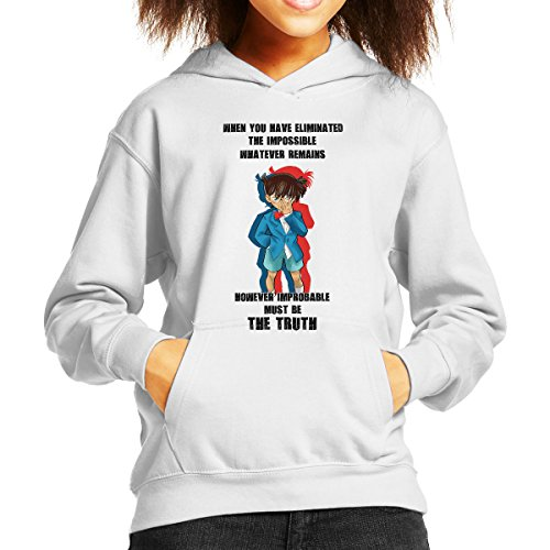 The Truth Detective Conan Case Closed Kid's Hooded Sweatshirt