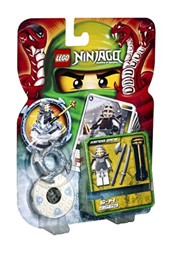 LEGO Ninjago Kendo Zane 9563