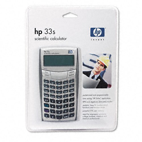 in budget affordable HP 33S Scientific Calculator (F2216A) (after update)