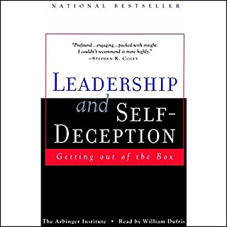 Leadership and Self-Deception audiobook cover art