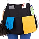 SupplyMaid Waterproof Professional Cleaning Apron & Tool Belt, Speeds Up Cleaning, Used by 1000s of House Cleaners, Hotels, Casinos & More. 'Like a Cleaning Caddy Around Your Waist'