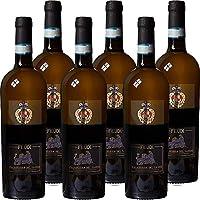 falanghina feudi sannio doc   vino bianco della campania   confezione da 6 bottiglie da 75 cl   idea regalo