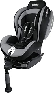 Sparco Corsa F500I Isofix Child Seat Group 1 (9-18Kg) Grey