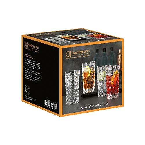 Nachtmann Longdrinkglas Bossa Nova 395ml (4er Pack)