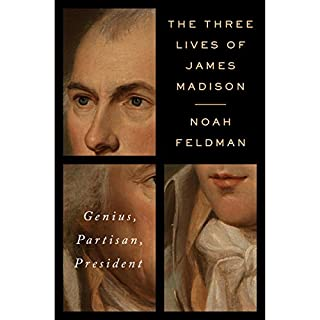 The Three Lives of James Madison cover art