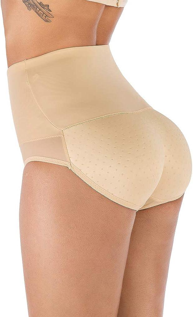 OMG Butt Enhancer Shaper Butt Lifter Boyshort Tummy Control Panties Fake Ass Push Up Padded Buttock