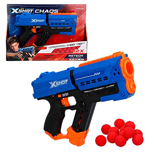 X-Shot - Pistola bolas gomaespuma Meteor Blaster X-Shot