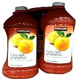 【カークランド】グレープフルーツジュース 2.84L X 2本