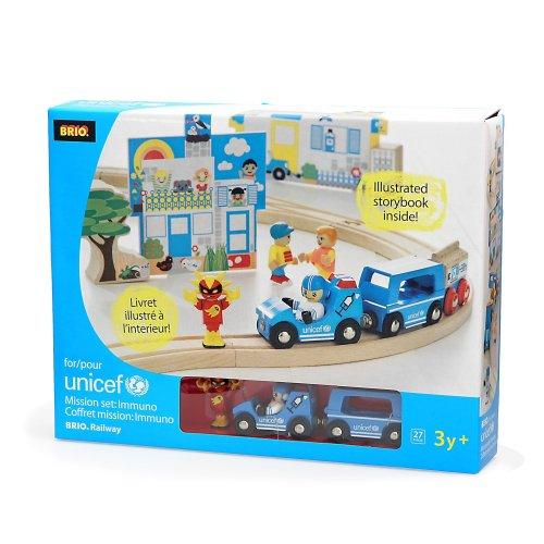 Brio - 30014 - Stazione Circuiti Legno - UNICEF Box Immuno