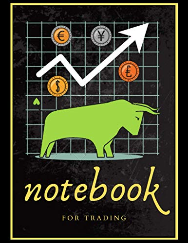 Notebook For Trading: A 120 Pages Premium College Lined Notebook for Work, School or Writing - Great Journal for women, men or kids - Elegant Notebook for writing random thoughts.