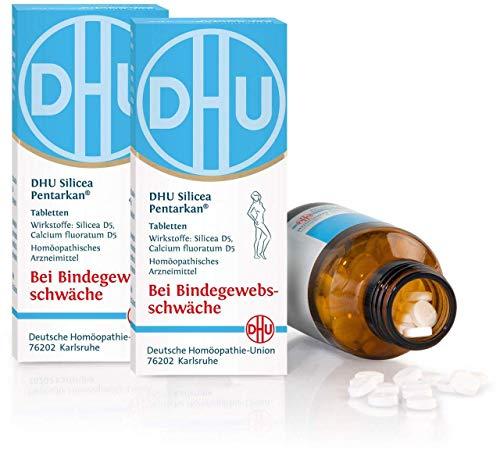 DHU Silicea Pentarkan für das Bindegewebe 2 x 200 Tabletten
