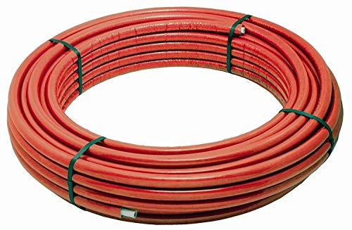Tubo multistrato 20 26 32 spessore 2 3 mm coibentato coibendato 373 BOBINA 50/25 MT coibentato (32 x 3)