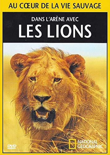 NATIONAL GEOGRAPHIC - DANS L'ARENE AVEC LES LIONS / BOITIER SLIM