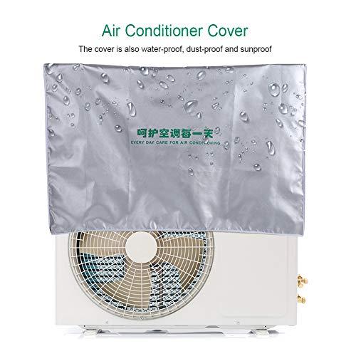 Raguso Klimaanlage Staubschutz Hausklimaanlage Abdeckung für zu Hause(2p (80 * 26 * 57))