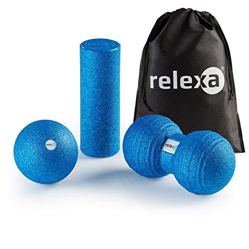 relexa® Faszien Set Mini blau