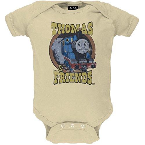 Thomas & Friends - Baby-Boys Group Infant Bodysuit 12-18 Months Tan