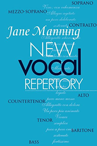 Download New Vocal Repertory: An Introduction (Vol 1) 0198164130