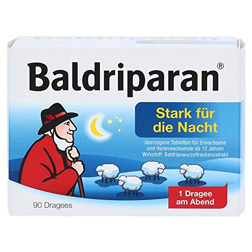 BALDRIPARAN stark f.d. Nacht Tabl.ueberzogen, 90 St