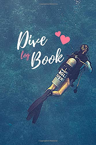 Dive Log Book: Scuba Diving Logbook, 100 dives, for training , Journal Note Book Booklet Diary Memo Ocean Lover Underwater World - Compact Size for Logging Over 120 Dives