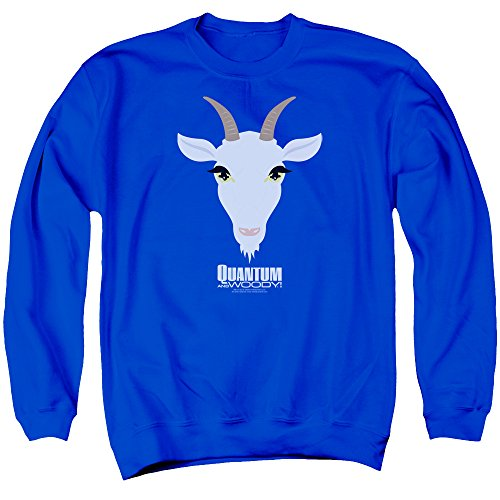 Quantum And Woody - - Goat Head Pull pour hommes, Large, Royal Blue