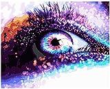 puzles adulto de 1000 piezas 50 * 70CM Hermosos ojos brillantes bodegones 3D DIY Rompecabezas educativo de juguete
